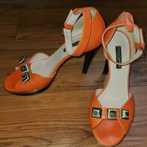 Alberto Guardian Fun Fresh Orange Heels